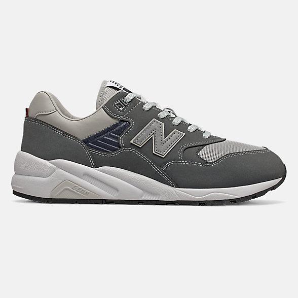 New Balance 余文乐同款580系列男女同款复古休闲鞋, CMT580CE