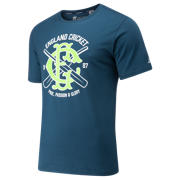 NB Cricket Graphic Tee, North Sea