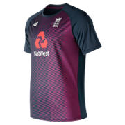 NB ECB Training SS Tee, Claret