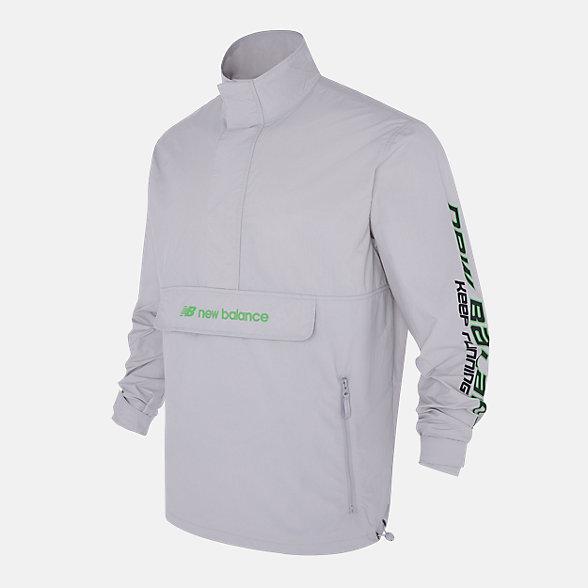 New Balance 男款机能梭织夹克外套, AMJ03321LAN