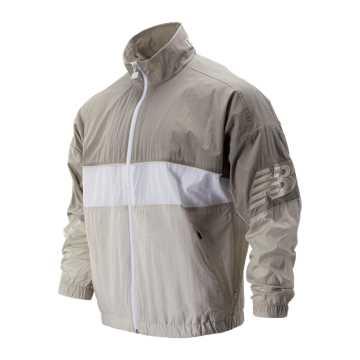 New Balance 余文乐同款复古立领梭织外套, WAC