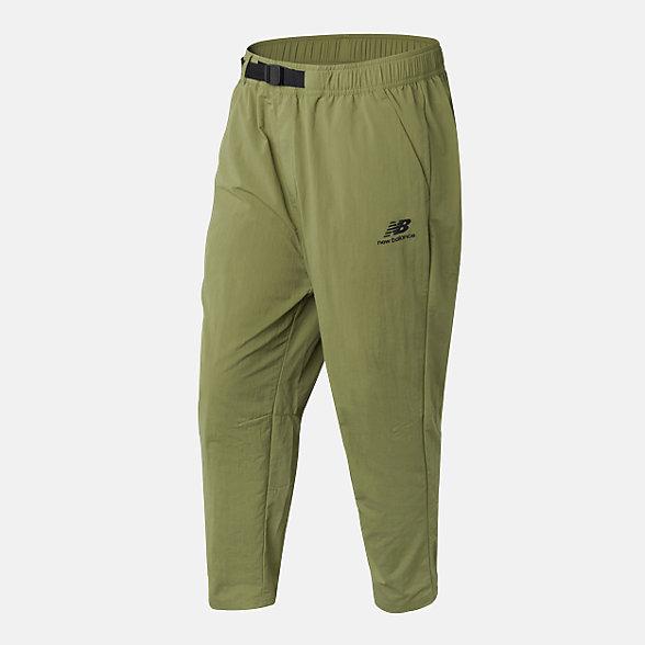New Balance 男款休闲梭织长裤, AMP03317OV