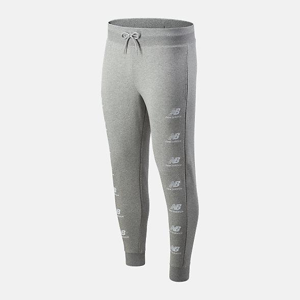 New Balance 男款针织长裤, AMP03560AG