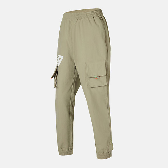 New Balance 男款休闲工装长裤, AMP12350INC