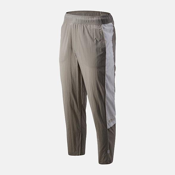 New Balance 男款拼接复古梭织长裤, AMP93500WAC