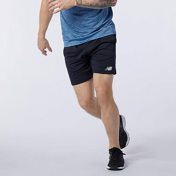 New Balance 男款速干运动短裤, AMS11025ECR