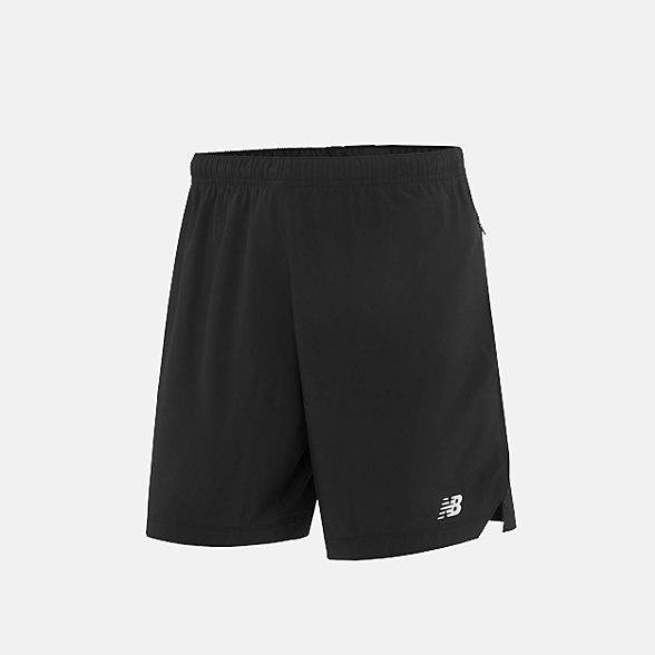 New Balance 男款梭织短裤, AMS91265BK