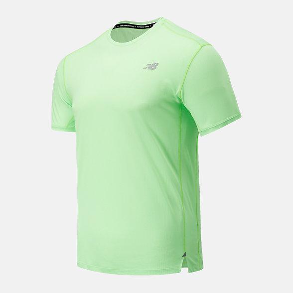 New Balance 男款冰感短袖T恤, AMT01234ELR