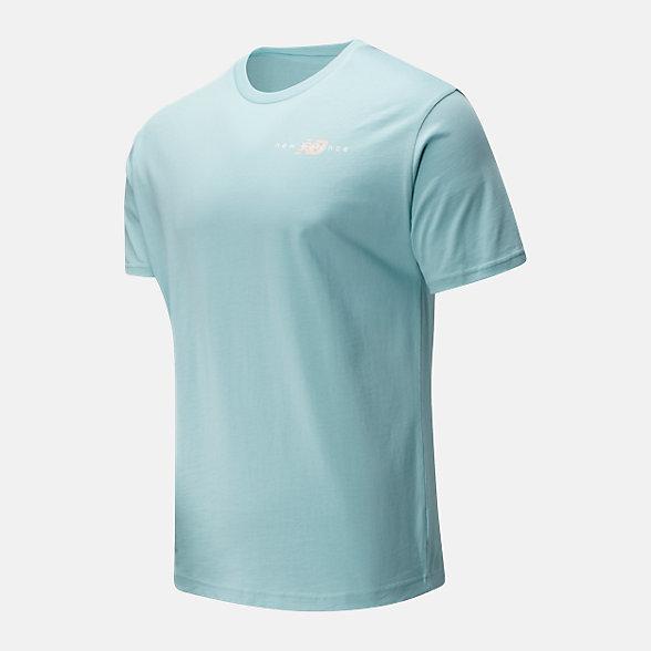 New Balance 男款趣味印花短袖T恤, AMT01515DRZ