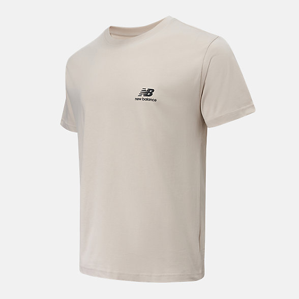 New Balance 男女同款印花短袖T恤, AMT12343GOK
