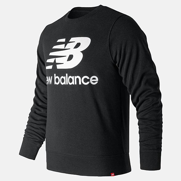 New Balance 男款休闲套头卫衣, AMT91548BK