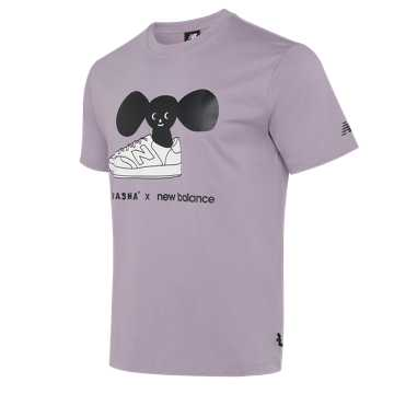 New Balance New Balance X TYAKASHA联名款男女同款短袖T恤, PU