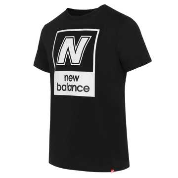 New Balance 男款针织休闲长裤, BK