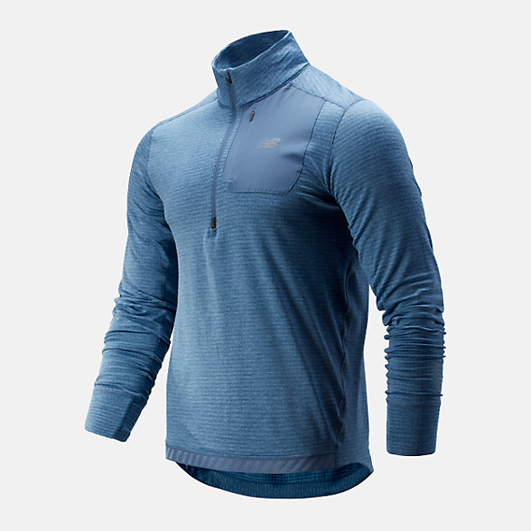 New Balance 男款保暖运动上衣, AMT93220CKY