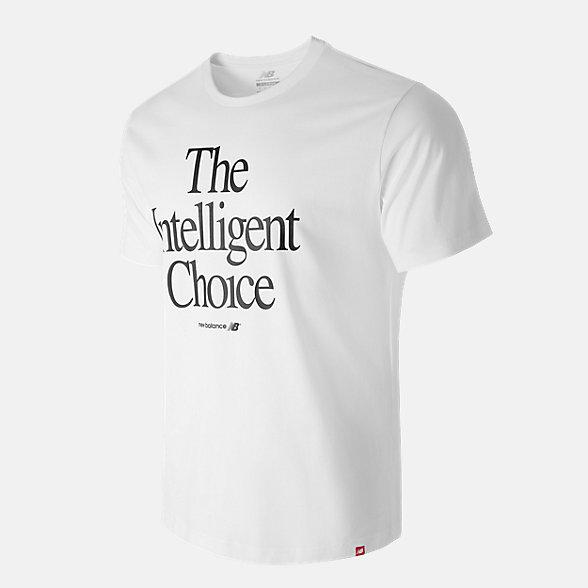 New Balance 余文樂同款休閑短袖T恤, AMT93524WT
