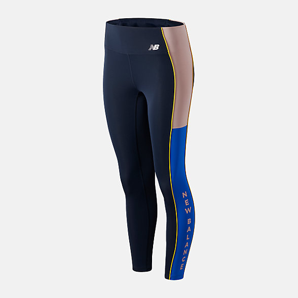 New Balance 女款速干紧身运动长裤, AWP01231SRN