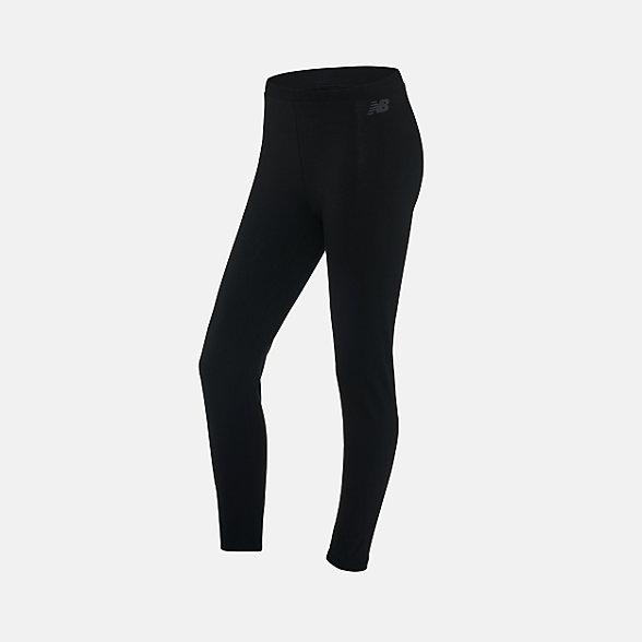 New Balance 女款休闲运动紧身裤, AWP91513BK