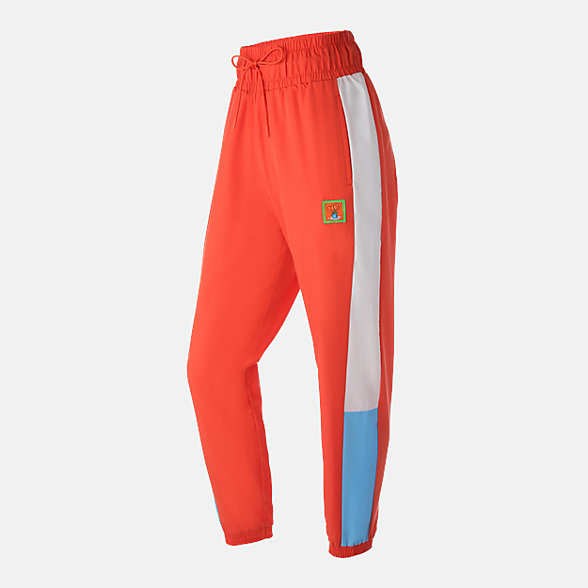 New Balance MELTING SADNESS联名款女士休闲梭织长裤, AWP93574SFL
