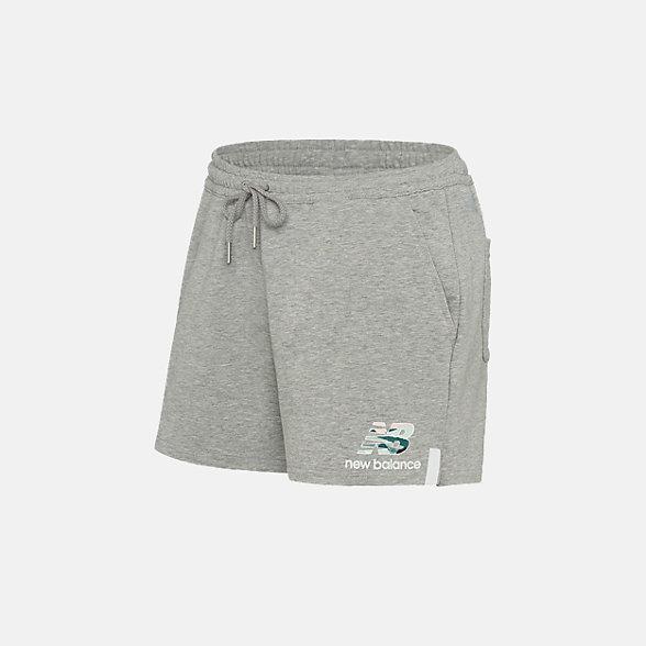 New Balance 女款針織短褲, AWS91580AG