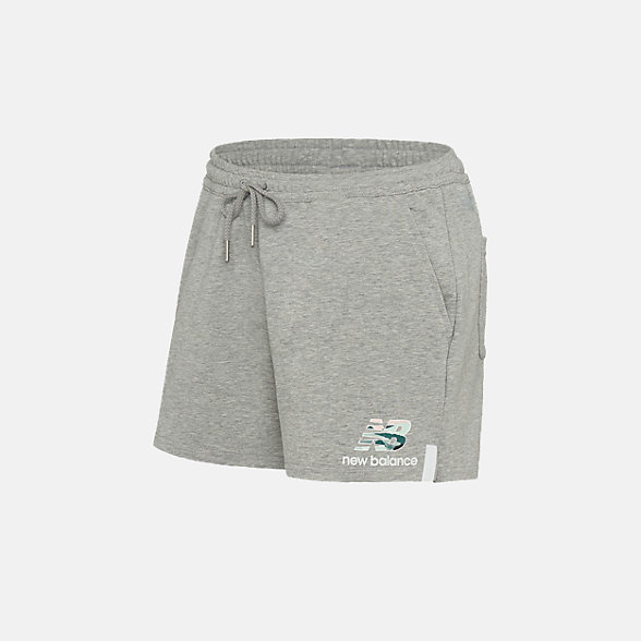 New Balance 女款针织短裤, AWS91580AG
