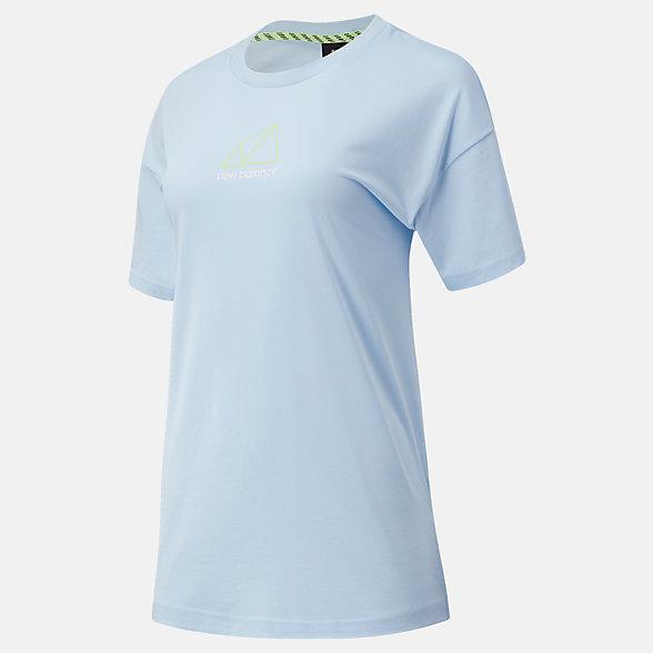 New Balance All Terrain系列女款短袖T恤, AWT11593UVG