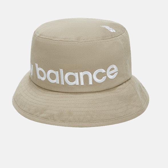 New Balance 男女同款时尚渔夫帽, GD921023BEI