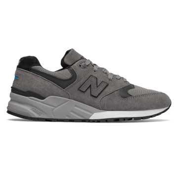 New Balance 999复古鞋 中性款 避震保护 美国原产, 灰色