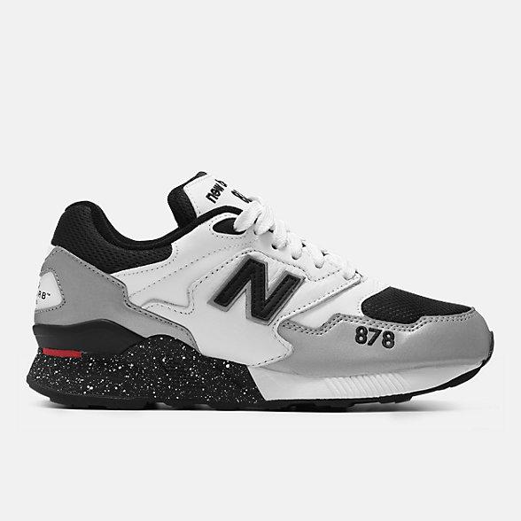New Balance 878系列男女同款复古休闲运动鞋 经典复古 避震舒适, ML878SY