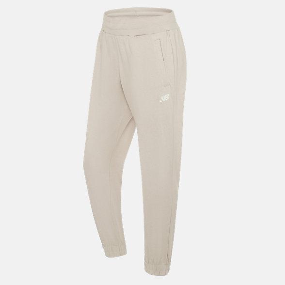 New Balance 女款针织长裤, ML923012BEI