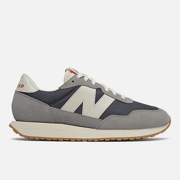 New Balance 237系列男女同款复古休闲鞋, MS237SC