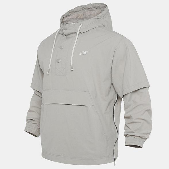 New Balance 男款梭织外套, NA923011BEI
