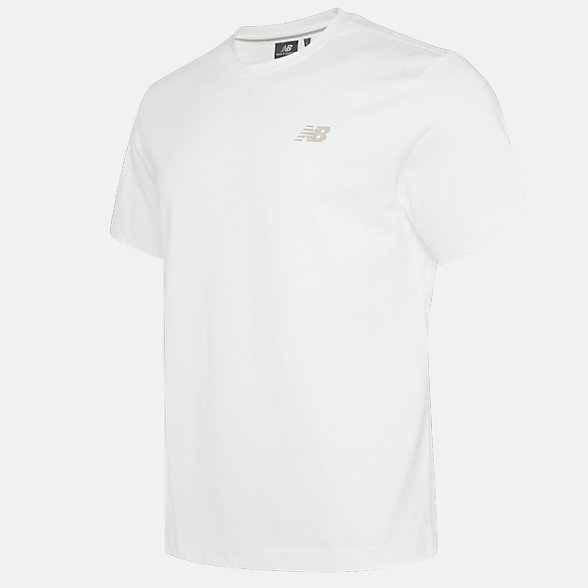 New Balance 男款休闲印花短袖T恤, NE923021IV