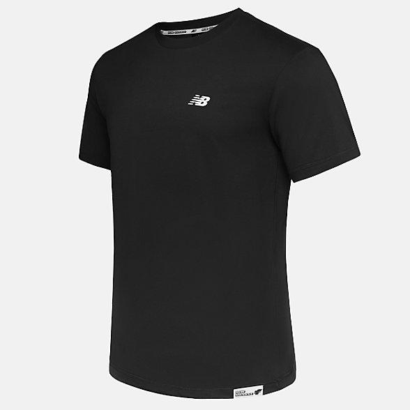 New Balance 男款印花休闲短袖T恤, NE925091BK