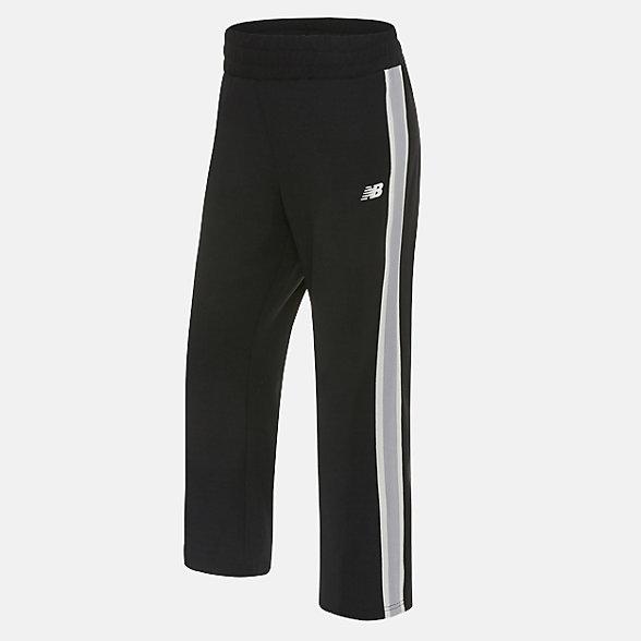 New Balance 女款休闲针织长裤, NT923012BK