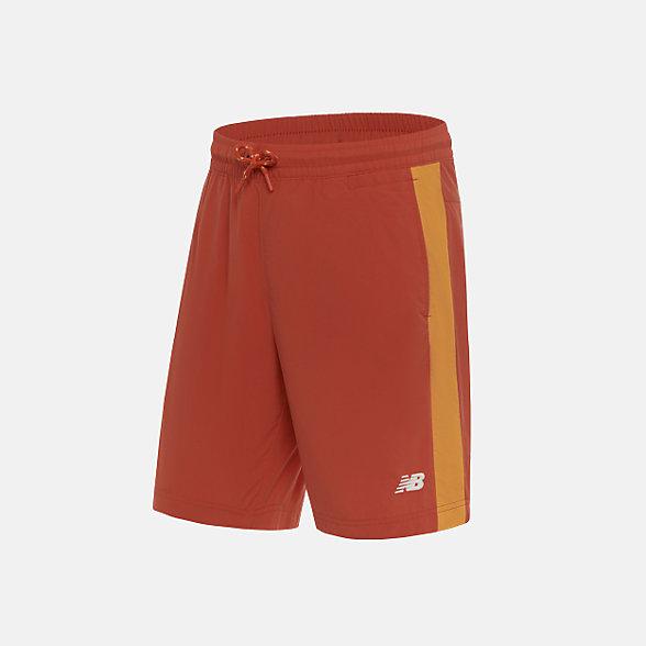 New Balance 男款休闲梭织短裤, NV925021ORG