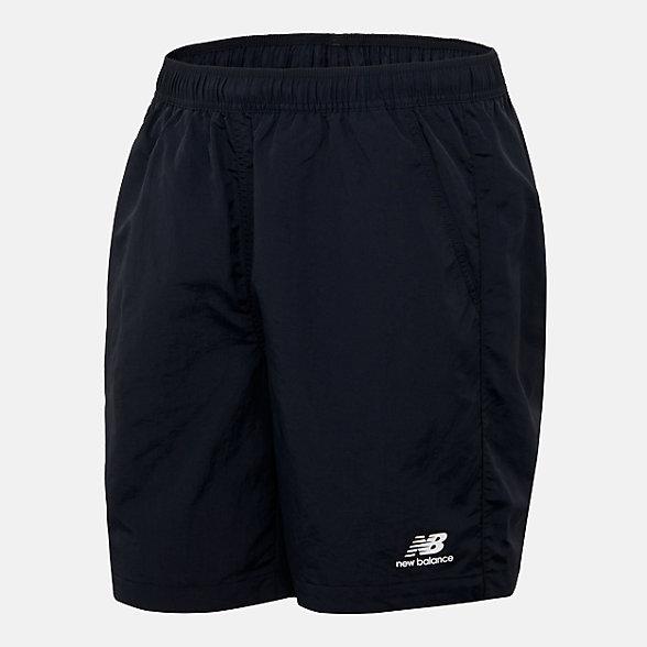 New Balance 男款休闲梭织短裤, NVA25011BK