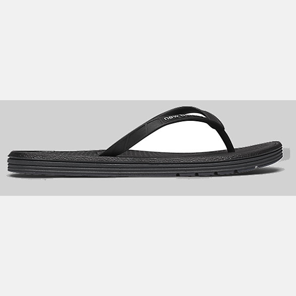 New Balance W6076BK/W6076BKI女款休闲拖鞋, W6076BK