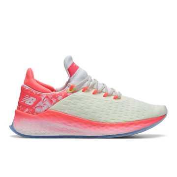 New Balance 上海女子赛事系列FreshFoam女款跑步鞋 工程网面 轻量缓震, 白色/玫色