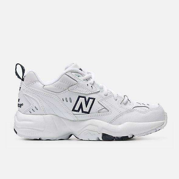New Balance 608系列女款复古休闲老爹鞋, WX608WT