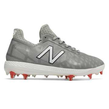 New Balance COMPv1, Grey with White & Red