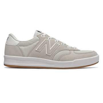 New Balance CRT300系列男女同款休闲板鞋, 米白色