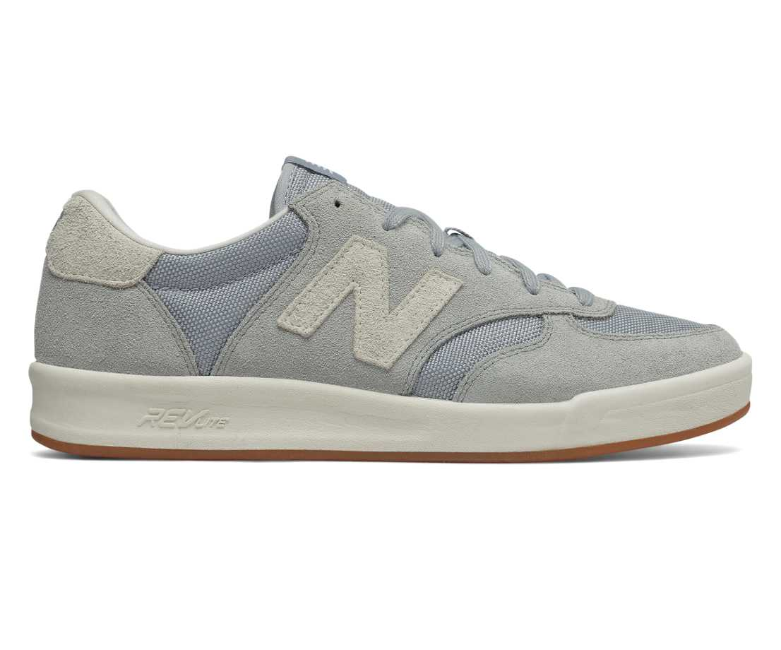 NB Suede 300, Silver Mink with Sea Salt
