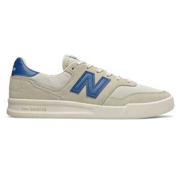 New Balance 300, Sea Salt with Classic Blue