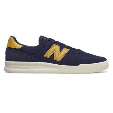 New Balance 300, Pigment with Varsity Gold