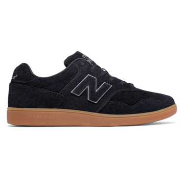 New Balance 288 Suede, Black with Gum