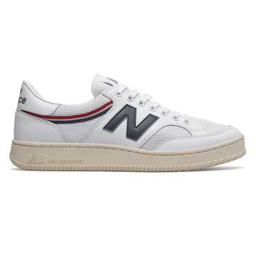 New Balance 400系列男款复古休闲板鞋, 白色