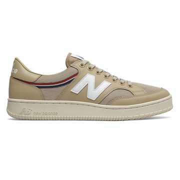 New Balance 400系列男款复古休闲板鞋, 卡其色