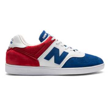 New Balance 576 Made in UK, Red with White & Blue