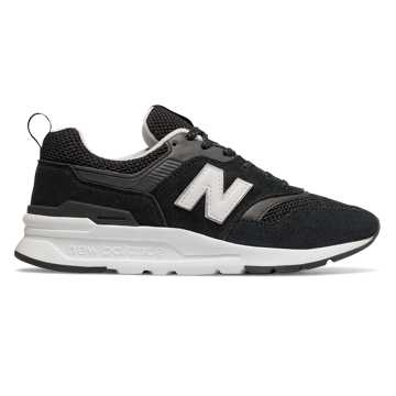 New Balance 997H, Black with White