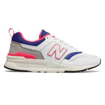 New Balance 997H, White with Team Royal